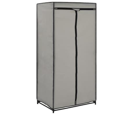vidaXL Szafa, szara, 75x50x160 cm[2/9]