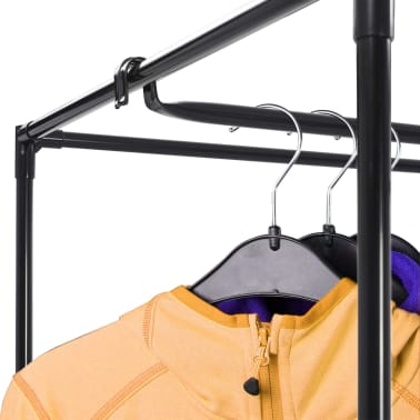 vidaXL Drabužių spintos, 2vnt., rudos, 75x50x160cm[2/10]