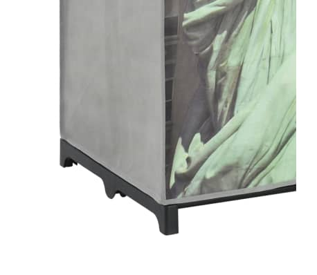 vidaXL Kledingkast New York 75x45x160 cm stof[7/8]