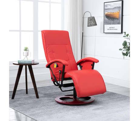 vidaXL Massagesessel mit Hocker Relaxsessel TV Fernsehsessel mehrere Auswahl