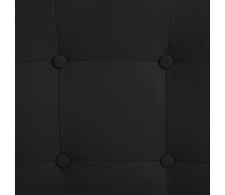 vidaXL Atlošiamas masažinis krėslas su pakoja, juod. sp., zomša[9/10]