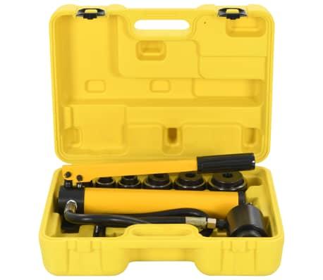 vidaXL Комплект хидравлични инструменти за кримпване, 22-60 мм
