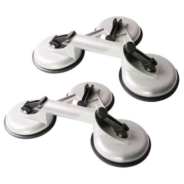 ProPlus Elevador por vacío con 3 ventosas 2 unidades aluminio[2/3]