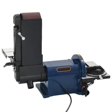 vidaXL Elektrinis juostinis/diskinis šlifuoklis, 550 W, 200 mm[3/8]