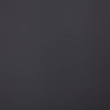 vidaXL Klupa s pretincem za pohranu od umjetne kože 116 cm siva[7/8]