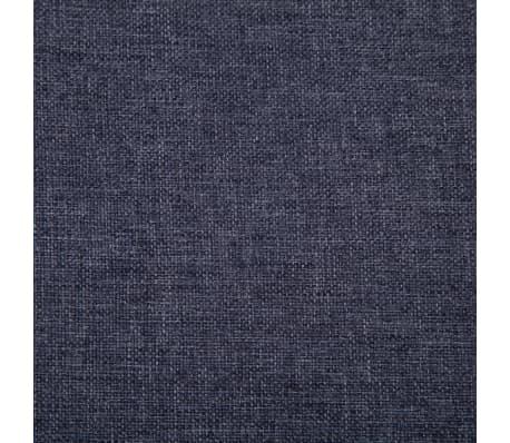 vidaXL Klupa s pretincem za pohranu 116 cm tamnosiva poliesterska[7/8]