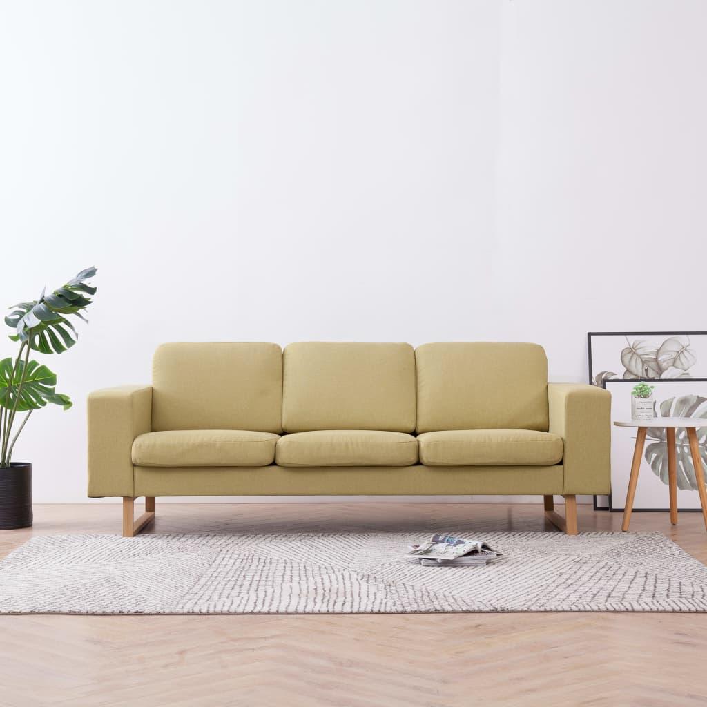 vidaXL-Sofa-3er-Stoff-Polstersofa-Couch-Loungesofa-Sitzmoebel-mehrere-Auswahl Indexbild 18