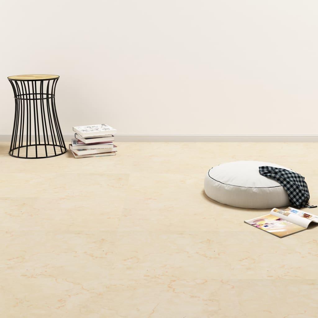 vidaXL Samolepící podlahové desky PVC 5,11 m² béžové