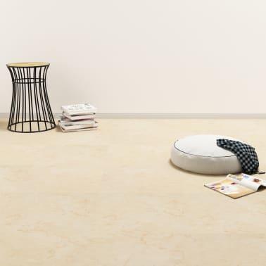 vidaXL Vloerplanken zelfklevend 5,11 m² PVC beige[1/6]