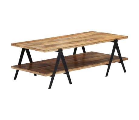 vidaXL Coffee Table 115x60x40 cm Solid Mango Wood