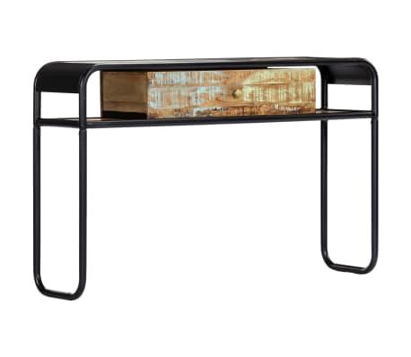 vidaXL Console Table 118x30x75 cm Solid Reclaimed Wood