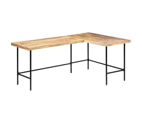 "vidaXL Desk 70.9""x47.2""x30"" Solid Mango Wood"