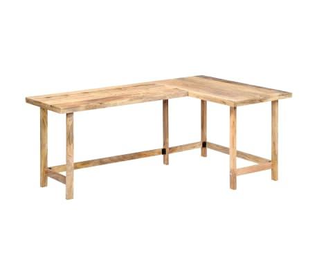 "vidaXL Desk 71""x47.2""x30"" Solid Mango Wood[11/13]"