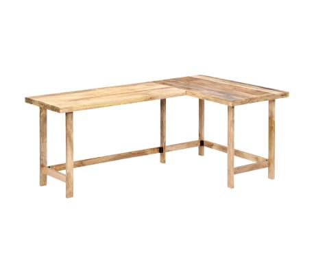 "vidaXL Desk 71""x47.2""x30"" Solid Mango Wood[12/13]"
