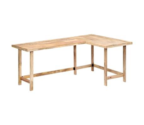 "vidaXL Desk 71""x47.2""x30"" Solid Mango Wood[10/13]"