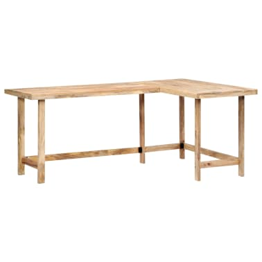 "vidaXL Desk 71""x47.2""x30"" Solid Mango Wood[13/13]"