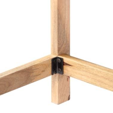 "vidaXL Desk 71""x47.2""x30"" Solid Mango Wood[5/13]"