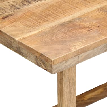 "vidaXL Desk 71""x47.2""x30"" Solid Mango Wood[7/13]"