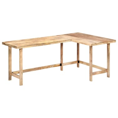 "vidaXL Desk 71""x47.2""x30"" Solid Mango Wood[9/13]"