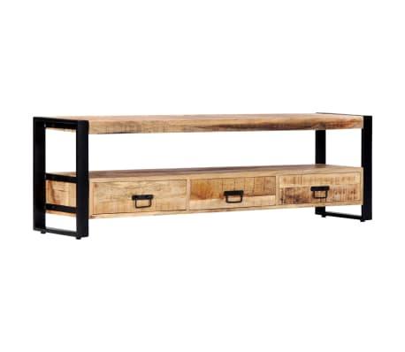 vidaXL TV Cabinet 150x30x45 cm Solid Mango Wood[8/13]