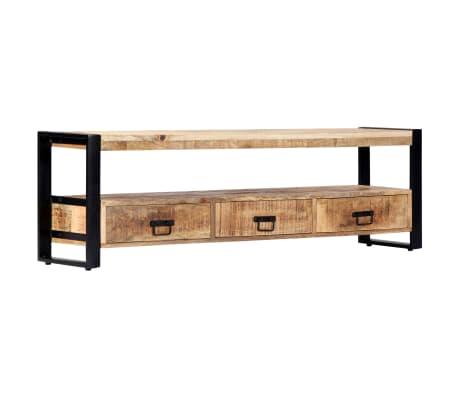 vidaXL TV Cabinet 150x30x45 cm Solid Mango Wood[9/13]