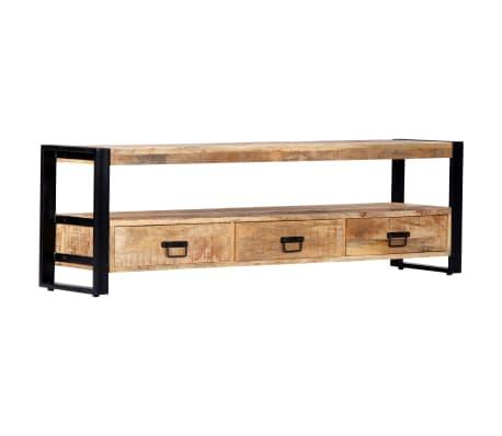 vidaXL TV Cabinet 150x30x45 cm Solid Mango Wood[10/13]