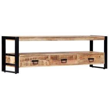 vidaXL TV Cabinet 150x30x45 cm Solid Mango Wood[12/13]