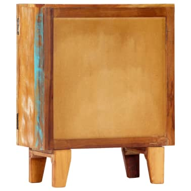 "vidaXL Hand Carved Sideboard 23.6""x11.8""x29.5"" Solid Reclaimed Wood[3/13]"
