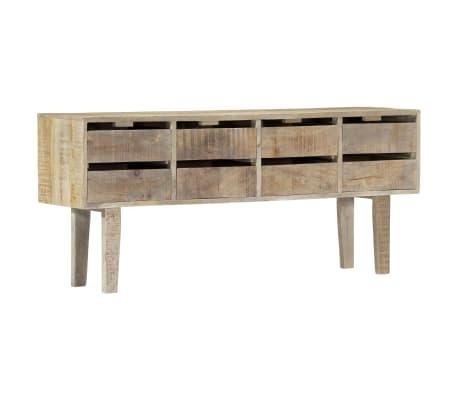 """vidaXL Sideboard 55.1""""x11.8""""x23.6"""" Solid Mango Wood"""