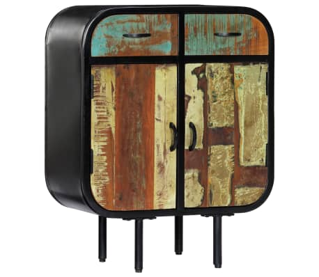 """vidaXL Sideboard 23.6""""x11.8""""x29.5"""" Solid Reclaimed Wood"""