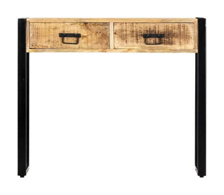 "vidaXL Console Table 35.4""x11.8""x29.5"" Solid Mango Wood[2/12]"