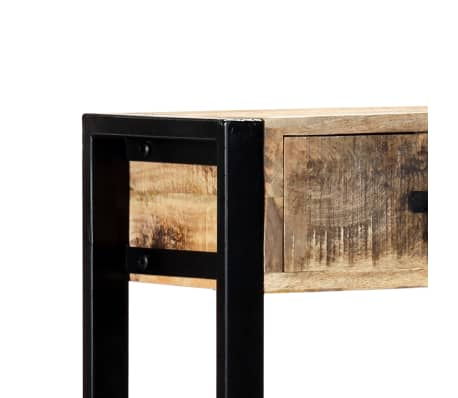"vidaXL Console Table 35.4""x11.8""x29.5"" Solid Mango Wood[6/12]"