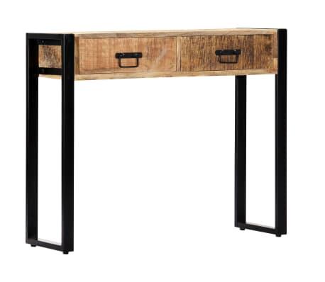 "vidaXL Console Table 35.4""x11.8""x29.5"" Solid Mango Wood[10/12]"