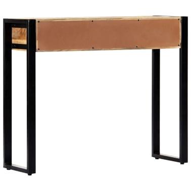 "vidaXL Console Table 35.4""x11.8""x29.5"" Solid Mango Wood[3/12]"