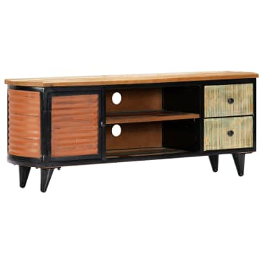 vidaXL TV Cabinet 120x30x45 cm Solid Reclaimed Wood[1/11]