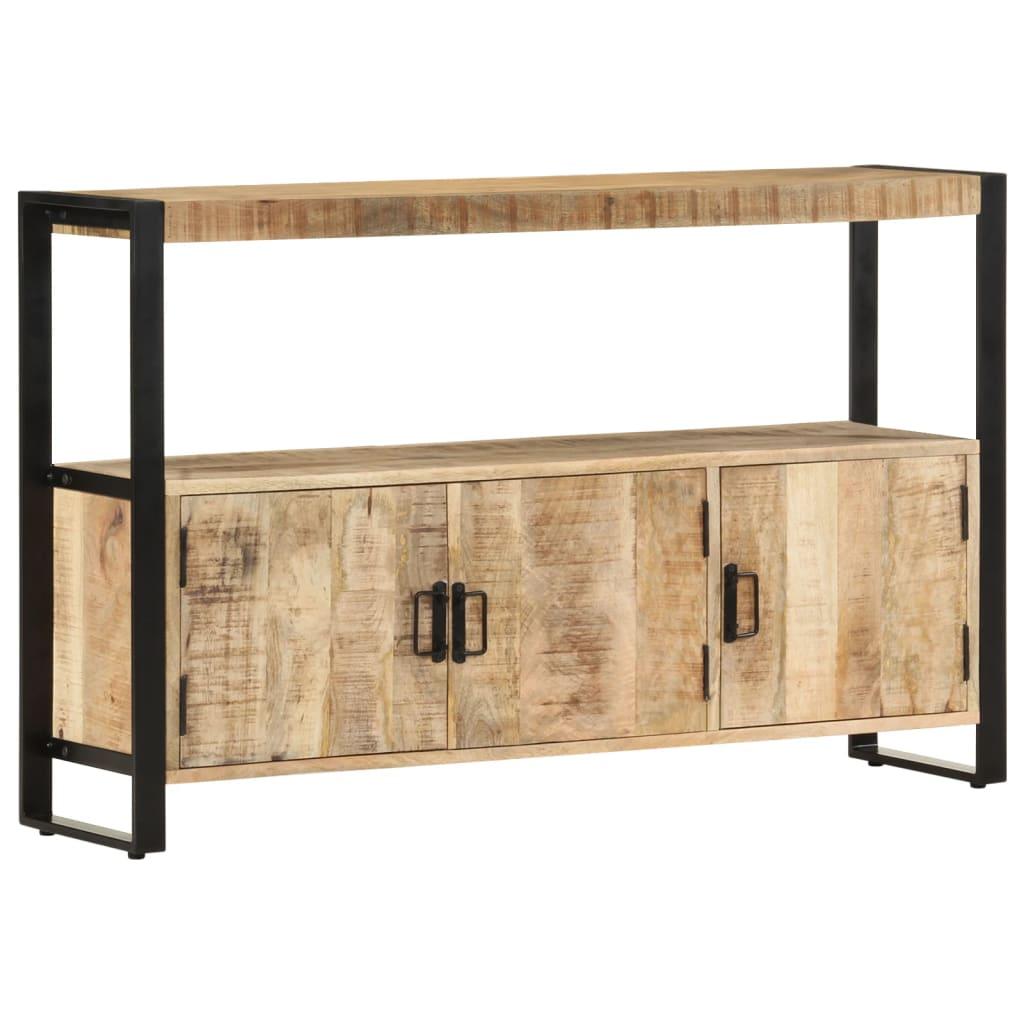 vidaXL Dulap lateral, 120 x 30 x 75 cm, lemn masiv de mango vidaxl.ro