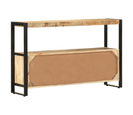 "vidaXL Side Cabinet 47.2""x11.8""x29.5"" Solid Mango Wood[3/12]"