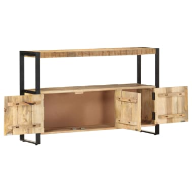 "vidaXL Side Cabinet 47.2""x11.8""x29.5"" Solid Mango Wood[4/12]"