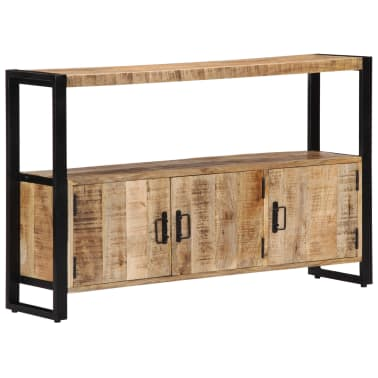 "vidaXL Side Cabinet 47.2""x11.8""x29.5"" Solid Mango Wood[8/12]"