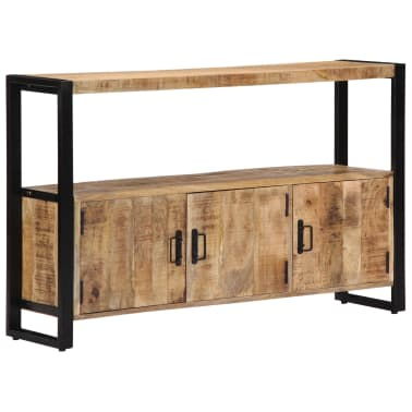 "vidaXL Side Cabinet 47.2""x11.8""x29.5"" Solid Mango Wood[9/12]"