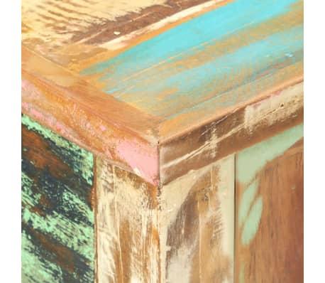 vidaXL Konsolinis staliukas, 120x40x75cm, perdirbtos med. masyvas[5/12]