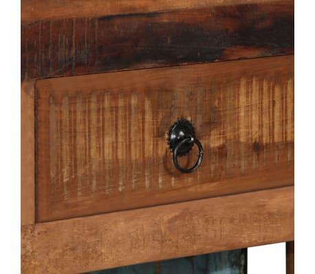 vidaXL Szafka na wino 100x60x172 cm, riksza, lite drewno z odzysku[7/13]