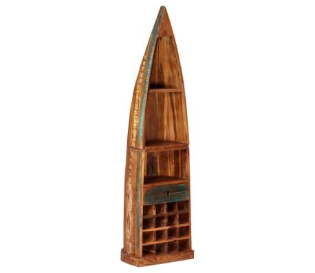 vidaXL Casier à bouteilles 50x40x180 cm Bois massif de récupération[14/15]