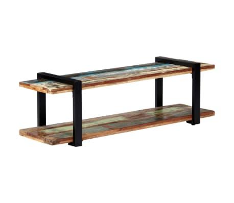 vidaXL TV skrinka 130x40x40 cm masívne recyklované drevo