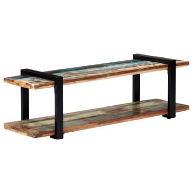 vidaXL Tv-meubel 130x40x40 cm massief gerecycled hout[1/11]