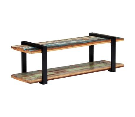 vidaXL Tv-meubel 130x40x40 cm massief gerecycled hout[11/11]