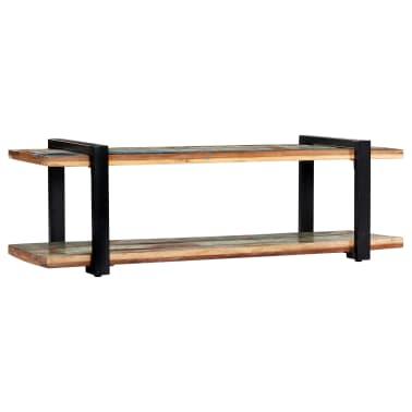 vidaXL Tv-meubel 130x40x40 cm massief gerecycled hout[2/11]