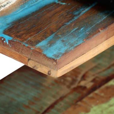 vidaXL Tv-meubel 130x40x40 cm massief gerecycled hout[4/11]