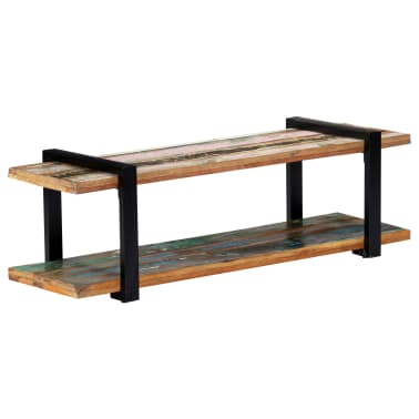 vidaXL Tv-meubel 130x40x40 cm massief gerecycled hout[8/11]