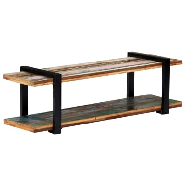 vidaXL Tv-meubel 130x40x40 cm massief gerecycled hout[9/11]